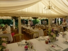 Two marquees joined together
