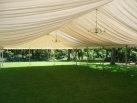 Roof only marquee makes ideal sunshade