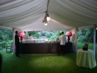 Roof only bar marquee