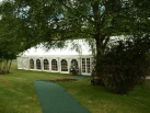 marquee with orangery windows