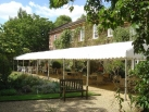 4.5m x 24m Roof only marquee