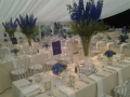 Birthday party marquee in Hampshire. Photo courtesy of MacEvents.