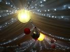 Fairy lights backlighting
