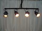 Bank of 4 pinspotlights